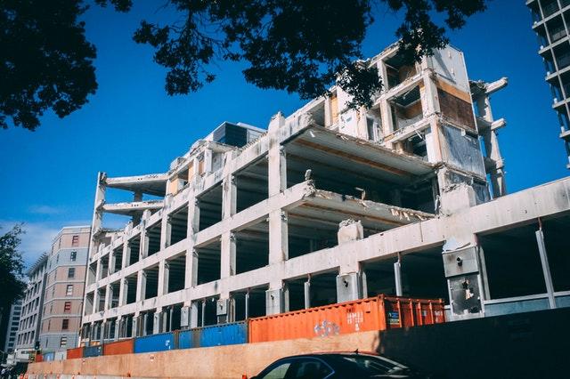 immeuble démoli